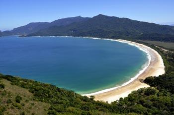 Praia de Lopes Mendes, em Ilha Grande. Foto: Francinete Fróes - Acervo TurisAngra