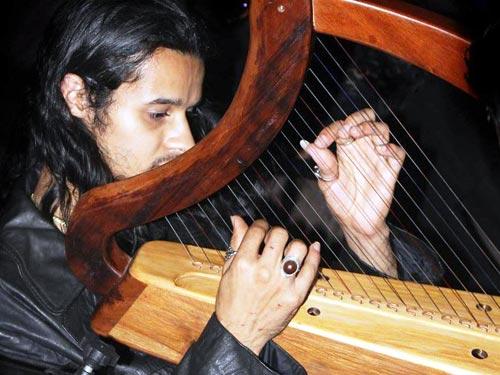 David Souza, músico e luthier, convidado do Festival Ecochic. Foto: divulgação