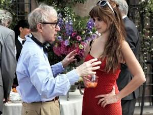 Woody Allen dirige Penélope Cruz no filme Para Roma com Amor