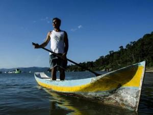 Canoa Caiçara. Foto: Isabela Kassow