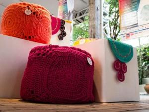 Peças da edição de 2013 da Mostra de Moda e Design Sustentáveis