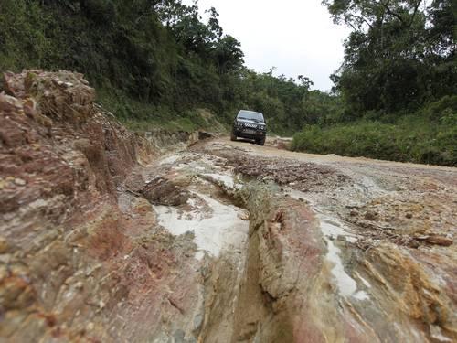 Parque Nacional da Serra da Bocaina tem estradas alagadas e sem sinalização. Foto: Domingos Peixoto