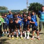 Equipes das Escolinhas de Futebol Cairuçu treinam para a 3ª Copa Cairuçu que acontece em outubro