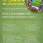 XVI Encontro da Cultura Negra em Paraty vai até 23/11, veja programação