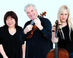 Zukerman Trio. Foto: Cheryl Mazak