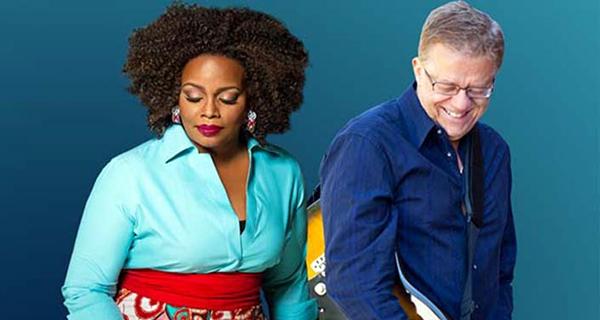 Dianne Reeves e Romero Lubambo - foto Jerrys Medisson
