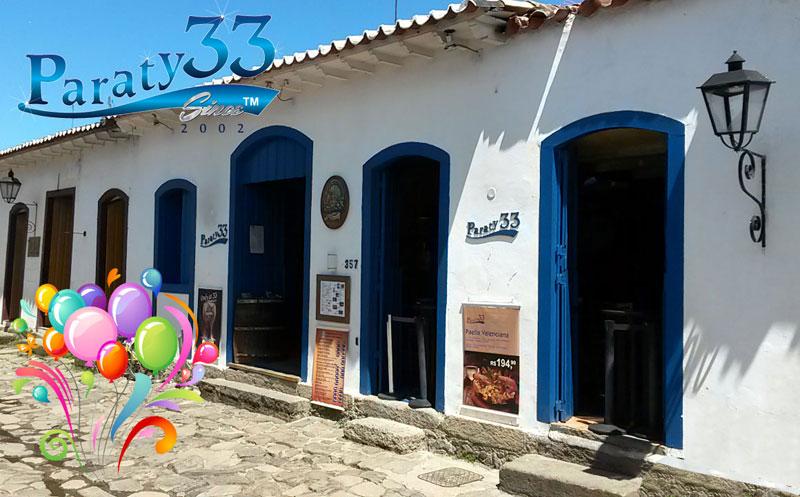 NA SEXTA 16, UMA CAIPIRINHA FREE POR PESSOA ENTRE 23 E 01H PARA CELEBRAR O 14 ANIVERSÁRIO DA CASA MAIS BADALADA DE PARATY!