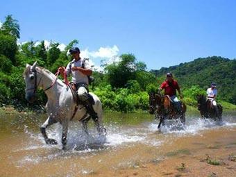 Cavalgada no PNSB