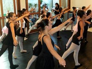 Aulas de Ballet no CEIC - Imagem ilustrativa