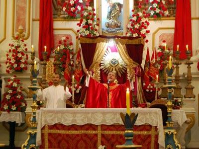 Missa na Igreja da Matriz - Foto: ©POL - www.paratyonline.com